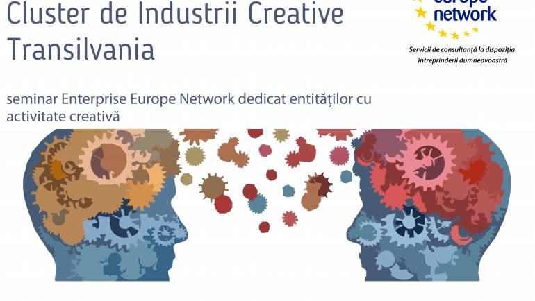 """Seminar ,,Oportunităţi de colaborare – Cluster de Industrii Creative"""" la Baia Mare"""