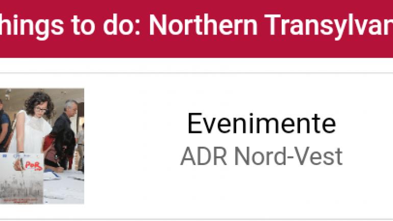"""Aplicaţia mobilă """"Things to do: Northern Transylvania"""""""