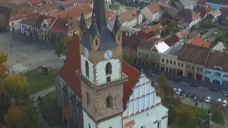 Turnul Bisericii Evanghelice din Bistrita