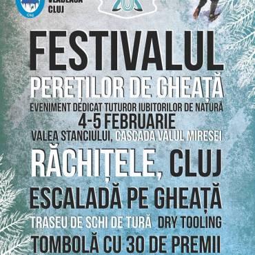 Festivalul Pereţilor de Gheaţă, Răchiţele – Cluj