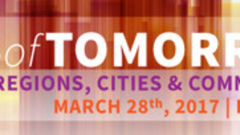 Conferința Cities of Tomorrow #5: Regiuni, orașe & comunități competitive