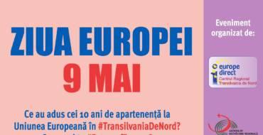 Ziua Europei la Cluj-Napoca va fi despre #10aniROînUE şi #FutureofEurope