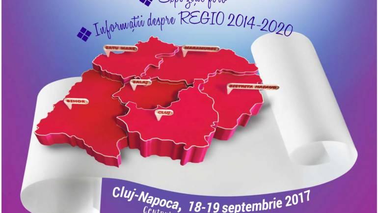 Nu ratati Zilele REGIO Transilvania de Nord, 18-19 septembrie 2017