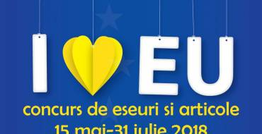 """Concursul cu premii """"My Europe-My Future"""" dedicat tinerilor și jurnaliștilor"""