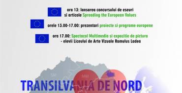 Ziua Europei este dedicată tineretului inovativ și talentat din Cluj-Napoca