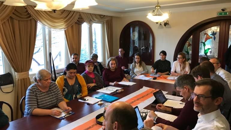 Echipa ADR Nord-Vest alături de membrii Comitetului Regional de Reprezentanți în vizită la partenerii din Miskolc