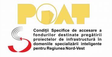 """Corrigendum nr. 1 pentru GHIDul SIMPLIFICAT Condiții Specifice de accesare a fondurilor destinate pregătirii proiectelor de infrastructură în domeniile specializării inteligente pentru Regiunea Nord-Vest, """"Sprijin la nivelul regiunii de dezvoltare Nord-Vest pentru pregătirea de proiecte finanțate din perioada de programare 2021-2027 pe domeniul specializare inteligentă"""" APELUL nr. 2"""