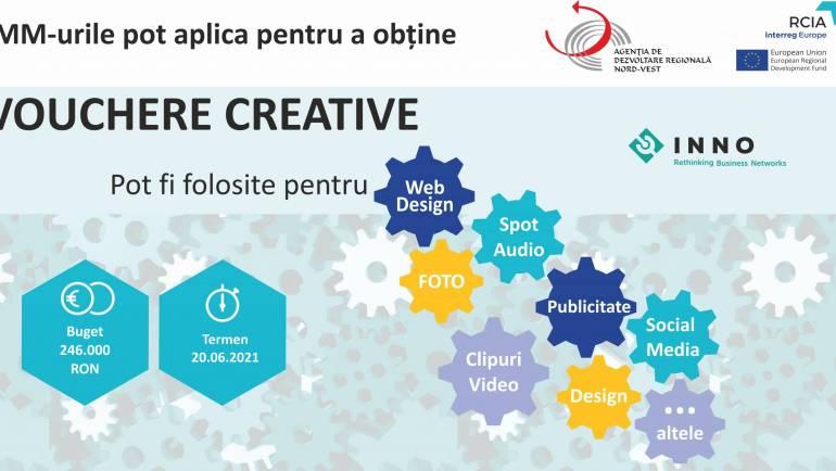 Lansarea Apelului Regional de Vouchere Creative