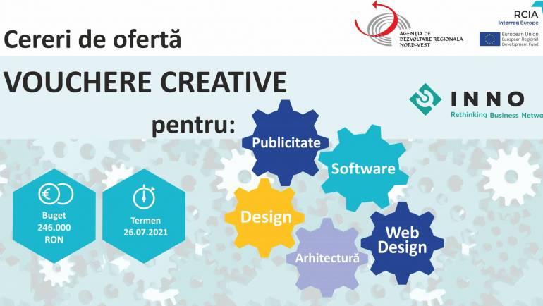 Câștigătorii voucherelor creative și lansarea cererilor de ofertă pentru servicii culturale și creative – Etapa II a Apelului Regional de Vouchere Creative