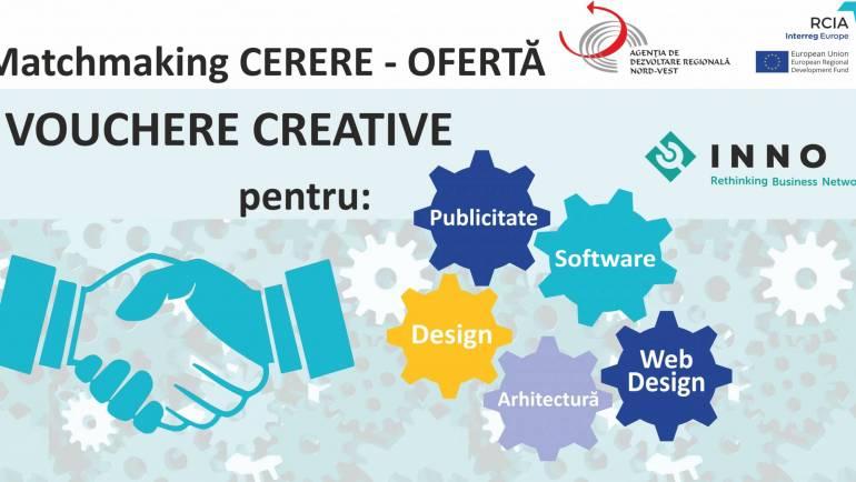 Câștigătorii Apelului Regional de Vouchere Creative – matchmaking între CEREREA și OFERTA de servicii culturale și creative